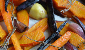 Légumes d'Automne Rôtis au Four