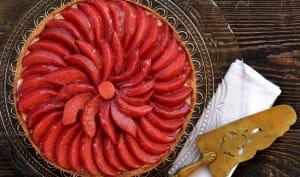Tarte coings hibiscus