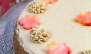Apple sauce cake aux épices douces (gâteau à la compote de pomme)