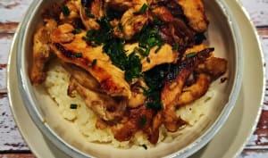 Bol de poulet à l'asiatique