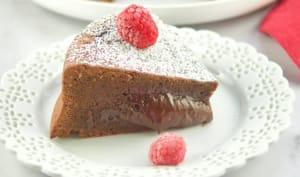 Cake chocolat au coeur fondant