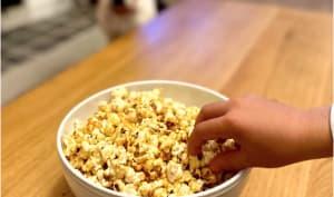 Popcorn caramélisés