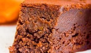 Gâteau chocolat citrouille