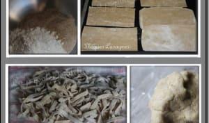 Lasagnes ou tagliatelles à la farine de châtaigne