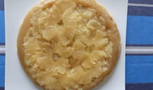 Tarte tatin à l'ananas et au miel