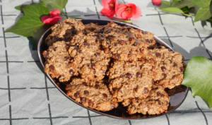 Cookies healthy au pépites de chocolat