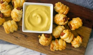 Feuilletés à la mortadelle et au fromage