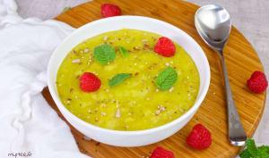 Soupe de topinambours à la pâte de curry
