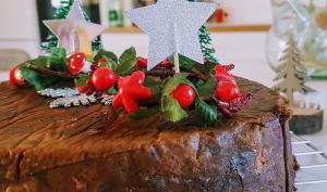 Cake de Noël, christmas cake
