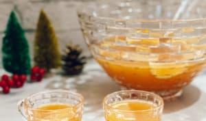 Punch de Noël au whisky et à l'érable