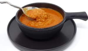 Soupe de tomate à la semoule