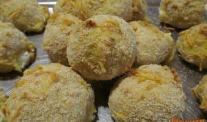 Boulettes de polenta et fromage