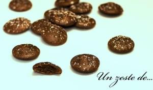 Petits biscuits chocolat