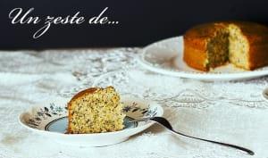 Gâteau à l'orange et au pavot