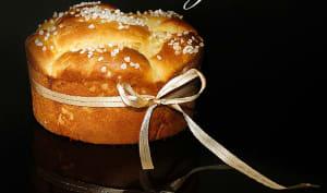 Gâteau brioche praliné