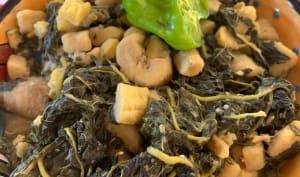 Les tinains aux épinards
