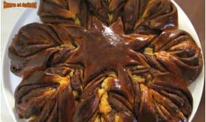 Brioche Flocon au Nutella