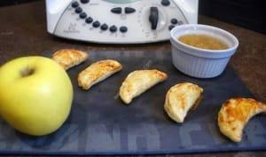 Chaussons aux pommes en 10 minutes