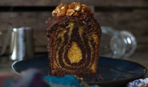 Le marbré cacahuètes chocolat de Pascal Hainigue