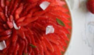 La tarte fraise et coco de Nicolas Lambert