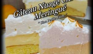 Gâteau nuage citron meringué