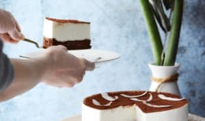 Le gâteau nuage de Léon