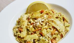 Sauté de légumes à la sauce satay