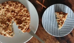 Gâteau crémeux au pavot et son streusel crunchy