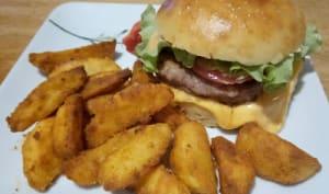 Burger et potatoes maison