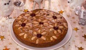 Gâteau de Noël aux fruits secs et confits à la Grappa