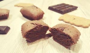 Fondant chocolat et spéculoos