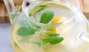 Infusion au citron gingembre et menthe