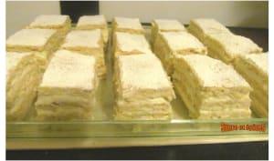 Gâteau roumain Blanche Neige