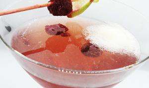 Cocktail Pétillant Framboisine