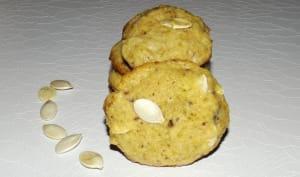 Cookies aux graines de courge et au chocolat