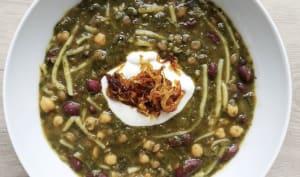 Soupe iranienne traditionnelle