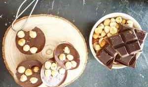 Chocolate fudge à la noisette