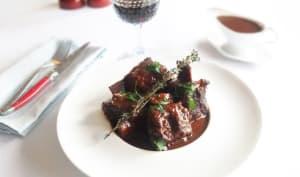 Côtes de Boeuf Braisées sauce réduite