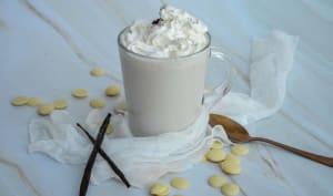 Chocolat blanc chaud