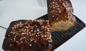 Cake gourmand au miel et pommes