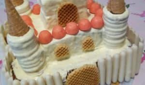 Le gâteau d'anniversaire de princesse