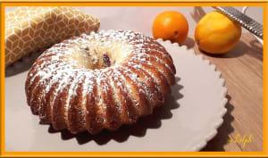Gâteau marbré chocolat orange