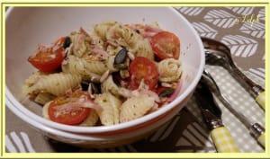 Salade de pâtes pesto-citron