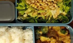 LunchBox réduite en sel