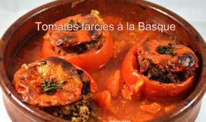 Tomates farcies à la basque