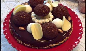 Tarte Orée des Bois poires chocolat