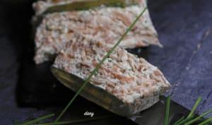Terrine de mousse de saumon