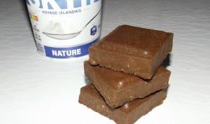 Fondant au chocolat et au Skyr