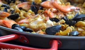 Fideua valencienne aux fruits de mer