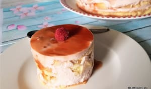 Gâteau aux gelée de coings et biscuit express
